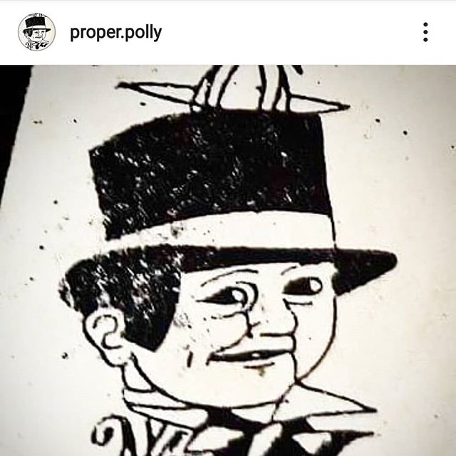 whats this !? like and follow our new best friend … @proper.polly !